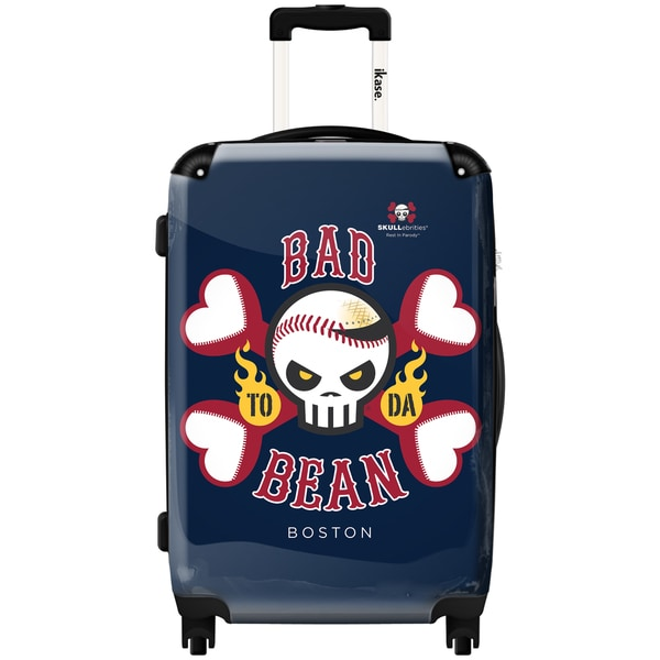 iKase Bad to Da Bean 24-inch Hardside Spinner Upright Suitcase