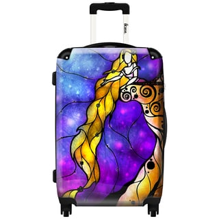 IKASE Tangled 24-inch Hardside Spinner Upright Suitcase