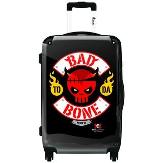 IKASE Bad to Da Bone 24-inch Hardside Spinner Upright Suitcase
