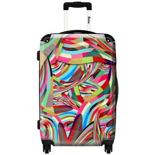 IKASE Eternal Summer 24-inch Hardside Spinner Upright Suitcase