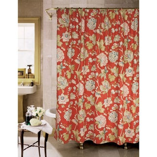 Livingston Floral Shower Curtain by Rose Tree