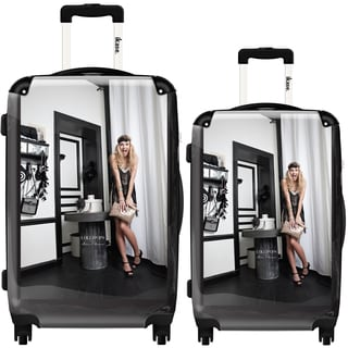 iKase Art by Lollipops 2-piece Hardside Spinner Luggage Set