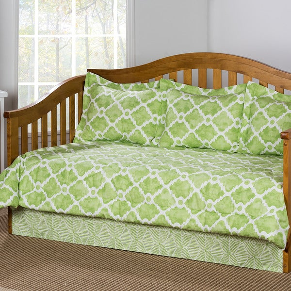 Athens Kiwi Cotton 5-piece Daybed Set