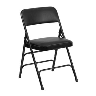 Aster Black Folding Chairs