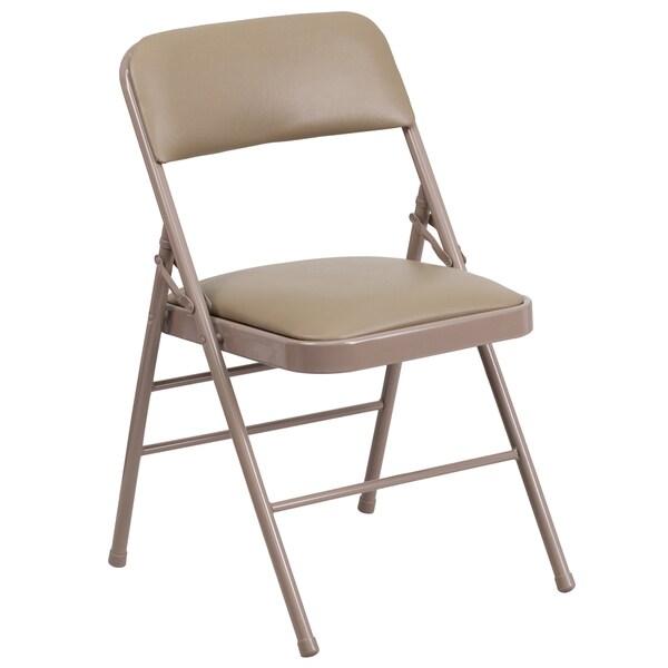 Azalea Beige Folding Chairs