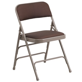 Cosmos Brown Folding Chairs