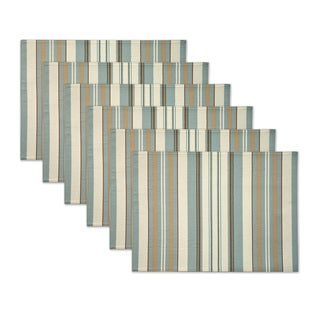 Verona Stripe Placemats by Rose Tree (Set of 6)