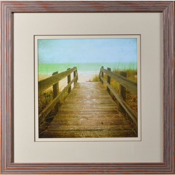 Geissler 'Twenty One Steps' Framed Print Wall Art