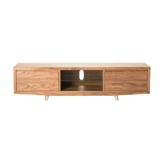 Natral Walnut Eric 2-drawer TV Table Stand