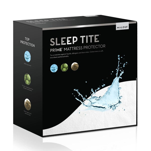 Sleep Tite Hypoallergenic 100-percent Waterproof Mattress Protector (As Is Item)