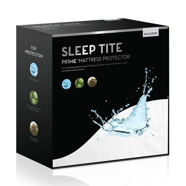Sleep Tite Hypoallergenic 100-percent Waterproof Mattress Protector