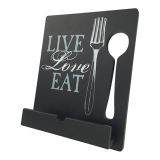 Live, Love, Eat Tablet/ Cookbook Stand