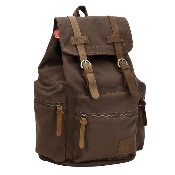 Vintage Canvas Backpack Satchel Bag