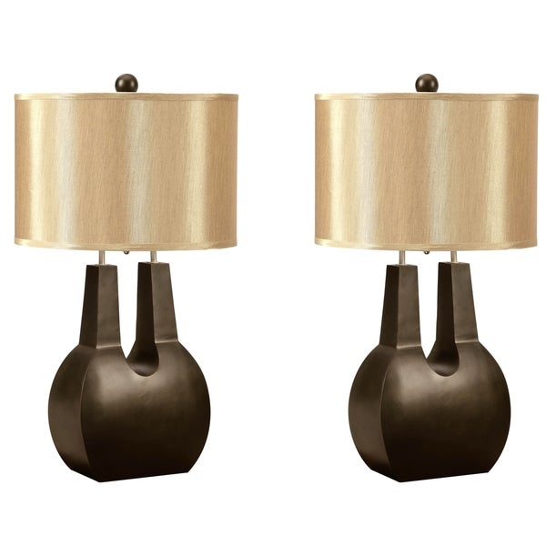 Emperor Contemporary Shaped Table Lamp (Set of 2)