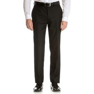 Tommy Hilfiger Men's Black Trim Fit Suit Separate Pant