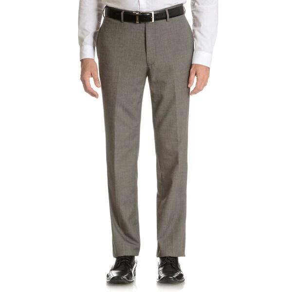 Tommy Hilfiger Men's Black/White Trim Fit Suit Separate Pant