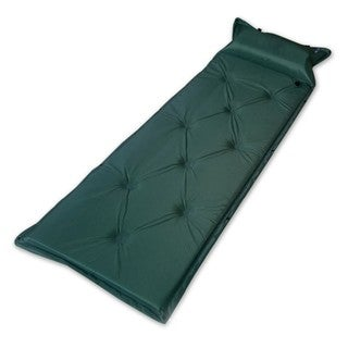 Inflatable Portable Camping Sleeping Mat with Cushion