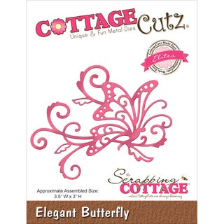 CottageCutz Elites Die Elegant Butterfly, 3.5inX3in