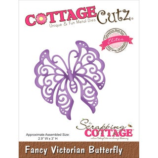 CottageCutz Elites Die Fancy Victorian Butterfly, 2.9inX3in