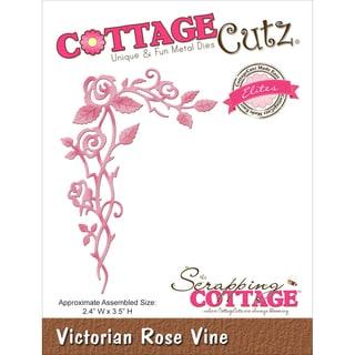 CottageCutz Elites Die Victorian Rose Vine 2.4inX3.5in