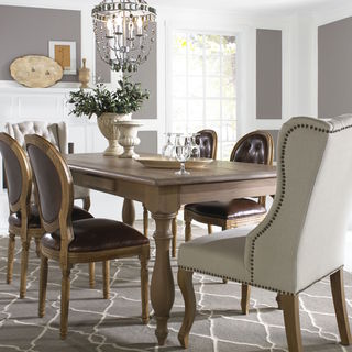 Somette Otter Creek 7 Piece Dining Set with Assorted Chairs