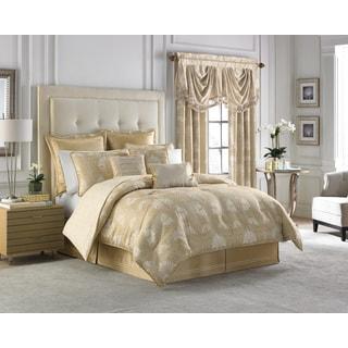 Croscill Home Miriam Cotton Floral/Medallion 4-piece Comforter Set