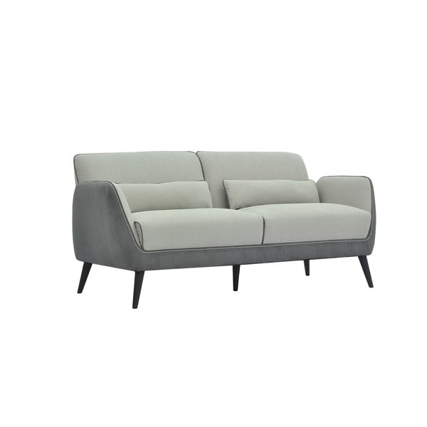 biza Light Grey Two-and-a-half-seater Sofa