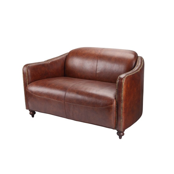 Casa Brown Two-seater Sofa