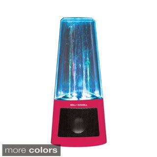 Bell + Howell Colorful LED Light Jumping Water Fountain Speaker