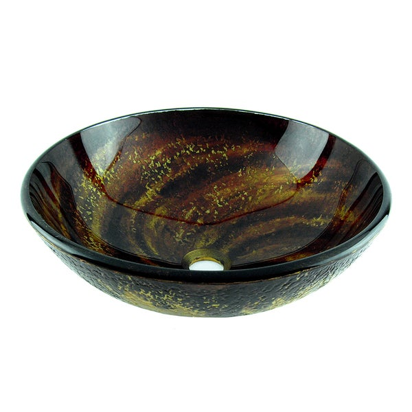 Fontaine Gold Rush Glass Vessel Sink