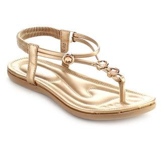 Bolaro Df5292 Women's Open Toe Thong Sandals