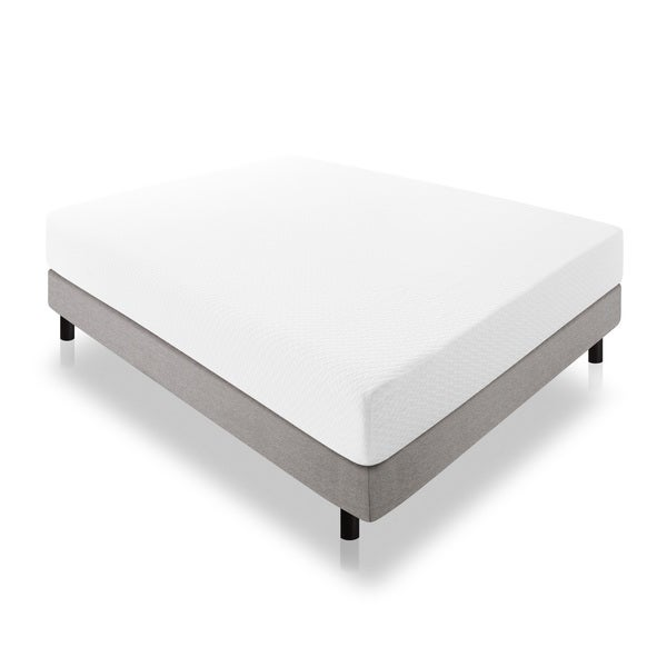 Lucid 10-inch Queen-size Latex Foam Mattress