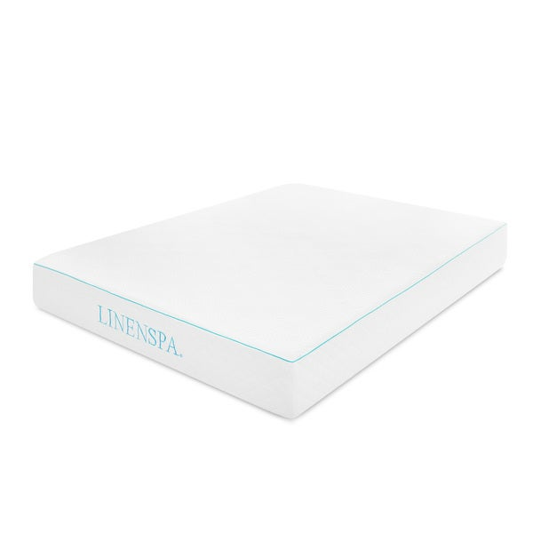 LINENSPA 10-inch Queen-size Gel Memory Foam Mattress