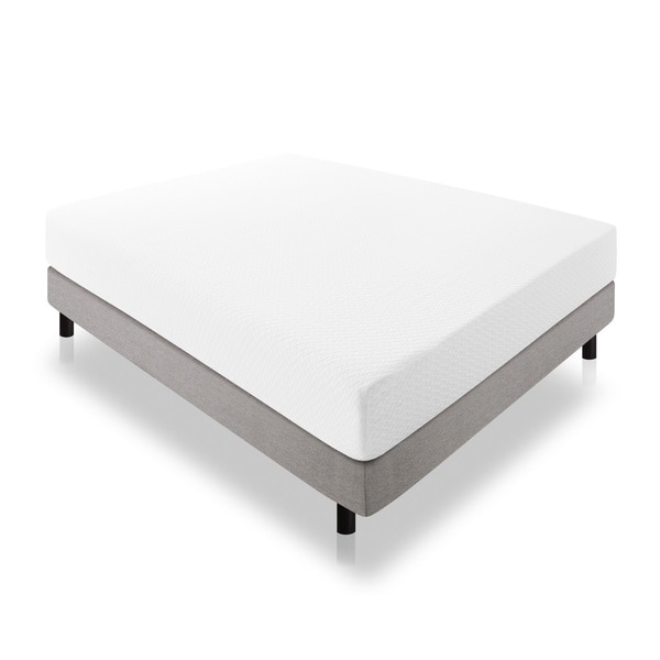 Lucid 10-inch Full-size Latex Foam Mattress