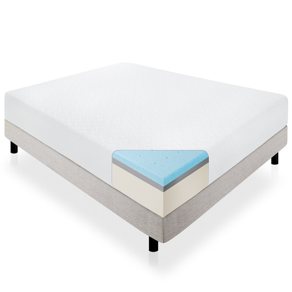 Lucid 14-inch Full-size Memory Foam Mattress
