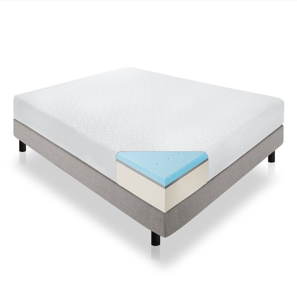 Lucid 12-inch Full-size Gel Memory Foam Mattress