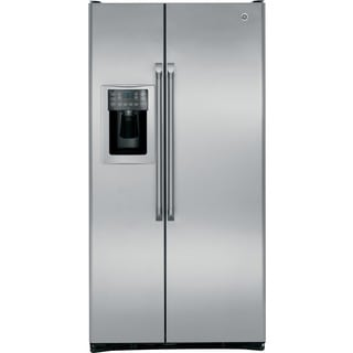 GE Cafe Series 24.6 Cubic-foot Counter-depth Side-by-side Refrigerator