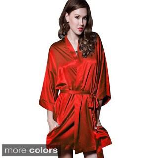 Satin Nighty Belted Robe