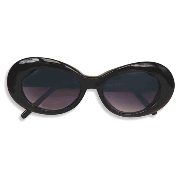 Black Round 1960's Mod GoGo Sunglasses 15640457