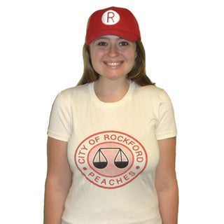 Women's Rockford Peaches Logo Jersey T-shirt Costume