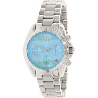 Michael Kors Women's MK6197 'Bradshaw' Flash Lens Chronograph Stainless Steel Watch