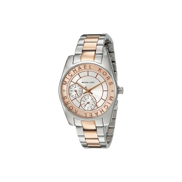 Michael Kors Women's MK6196 'Ryland' Chronograph Two-Tone Stainless Steel Watch
