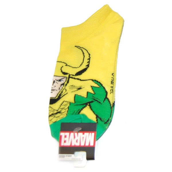 Marvel Comics Loki Ankle Socks