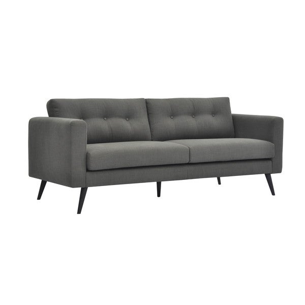 Aurelle Home Madrid Grey Sofa