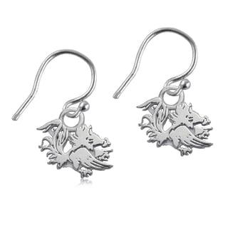 South Carolina Sterling Silver Dangle Earrings