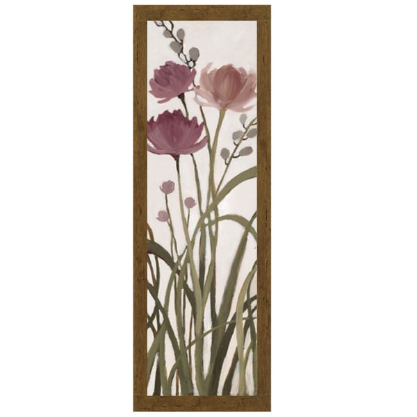 Meadows ll by Maria, 13 x 40 Framed Art Print