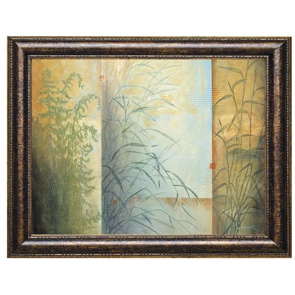 Ferns & Grasses by Don Li-Leger 40 x 28 Framed Art Print