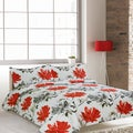 Lauren Taylor Jada 3 Piece Cotton Duvet Set