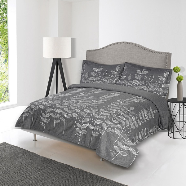 Lauren Taylor Sandiya 3 Piece Duvet Cover Set