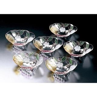 "Wine Garden Oval Bowls 6.75"" / 12 oz. Set / 6"